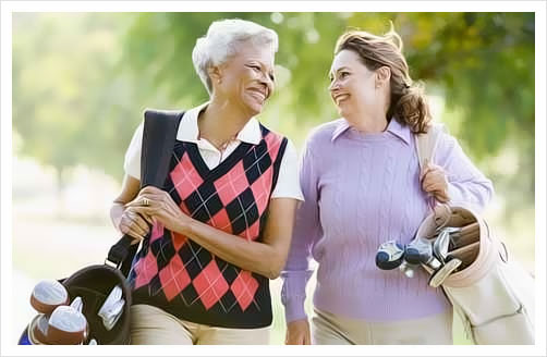 seniors, golf, Lodge at Old Trail, community, living